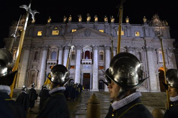 Bergoglio elegido Francisco I Guardia Suiza
