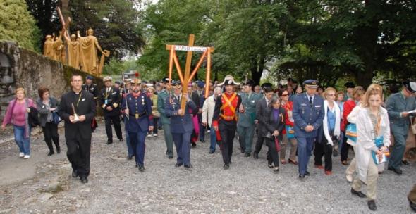 Peregrinación militar a Lourdes 2011