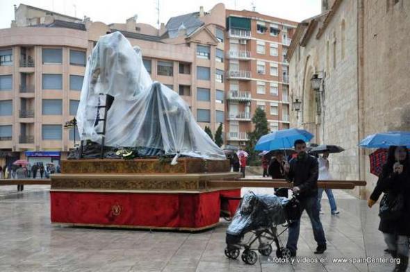 Semana Santa lluvia 2013 Albacete