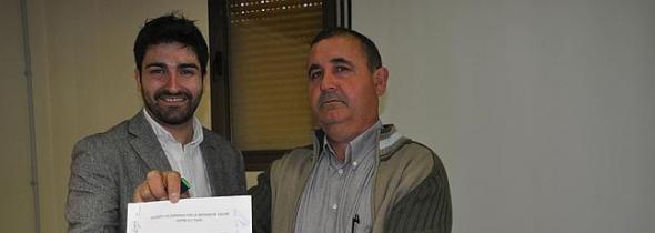Pedro Garijo alcalde de Cullar GR