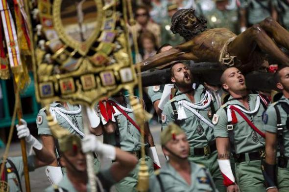 La Legión procesión Málaga
