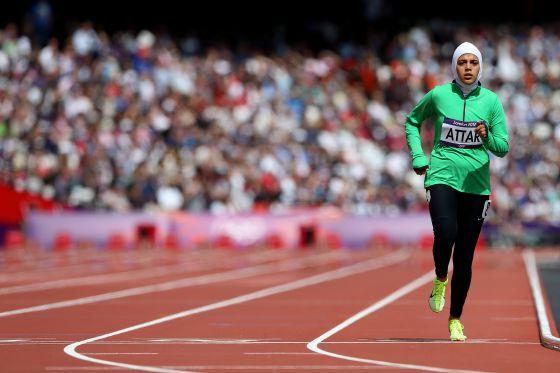 Sarah Attar atleta saudí