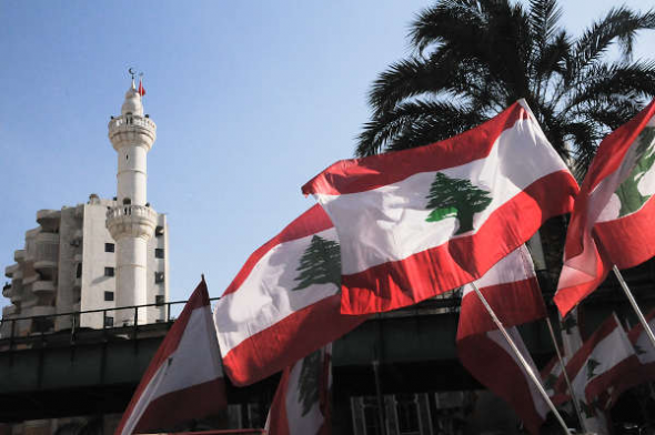 Líbano banderas