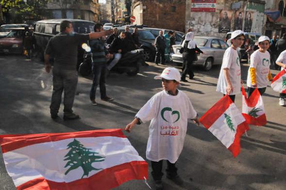 Líbano mani antiviolencia