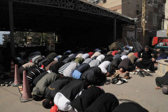 Líbano rezo salafista sunitas