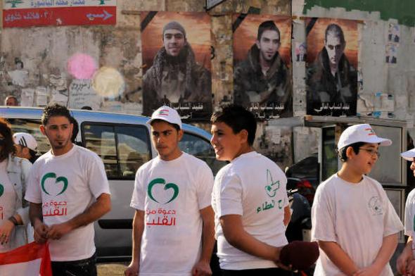 Líbano acto por la paz