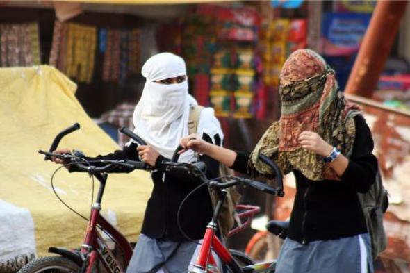 musulmanas en bici