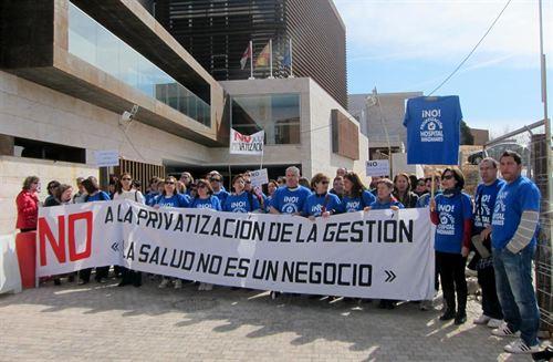 Hospital Manzanares privatizar