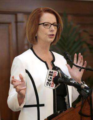 Julia Gillard primera ministra Australia 2013