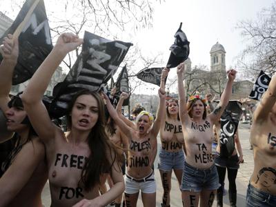 feministas liberación mujer Islam Milán 2013