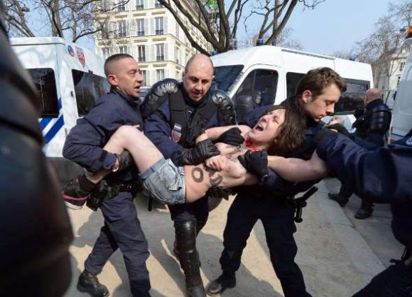 feministas liberación mujer Islam París 2013