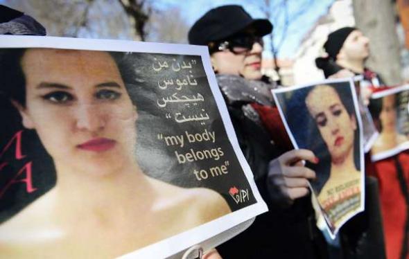 feministas liberación mujer Islam Estocolmo 2013