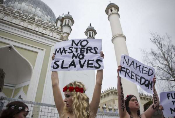 feministas liberación mujer Islam Berlín 2013