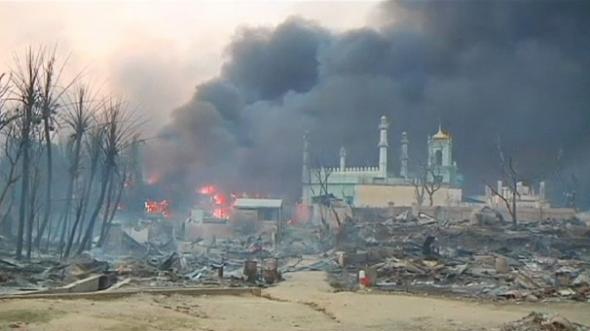 Violencia religiosa Birmania