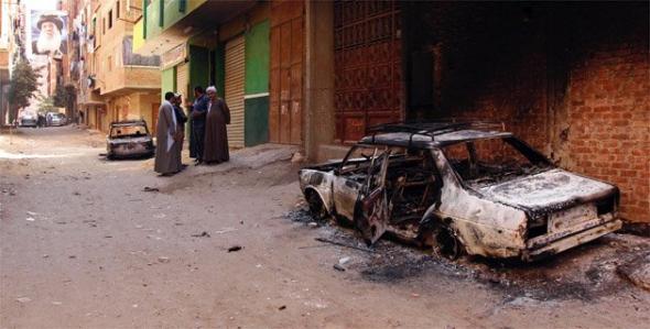 Violencia cristianos musulmanes Egipto