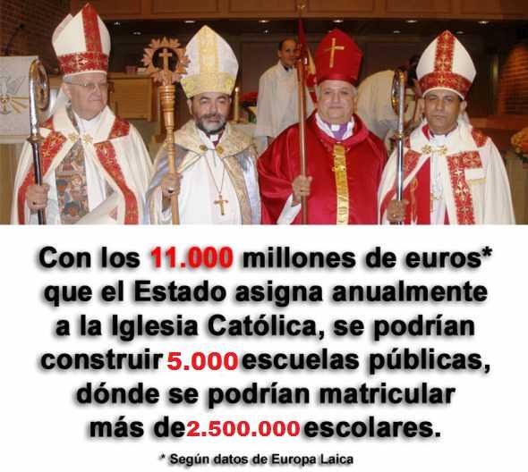 Financiación iglesia católica