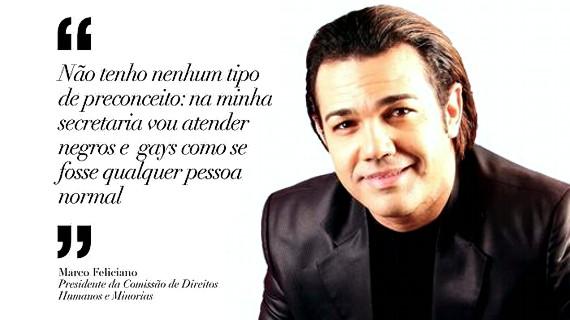 Marco Feliciano pastor  político Brasil