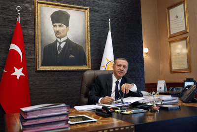 Erdogan presidente Turquía 2011