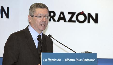 Gallardón ministro de Justicia PP 2013