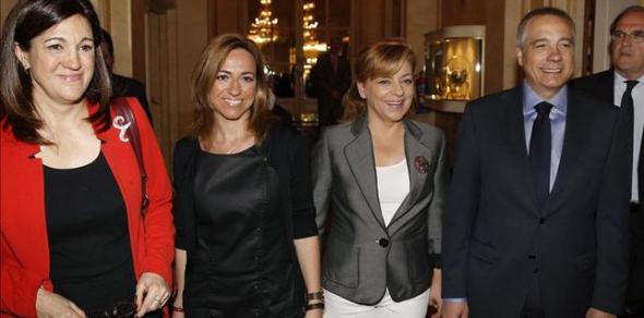 Diputadas PSOE
