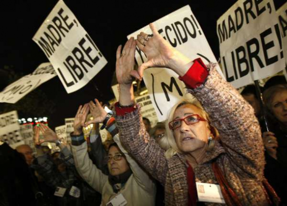 Mani aborto Madrid 2008