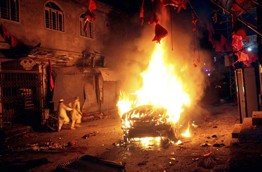 Atentado a laicistas Pakistán 2013