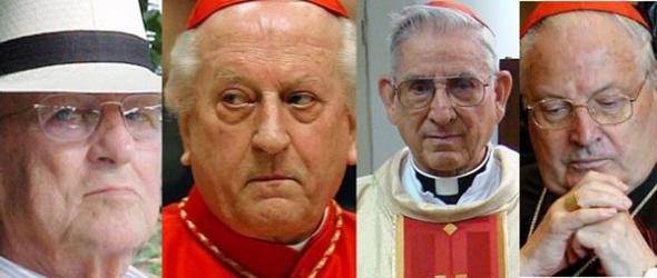 Maciel y cardenales