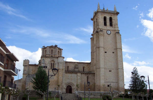 iglesia Villamuriel de Cerrato Palencia