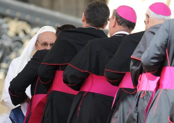 Bergoglio y obispos