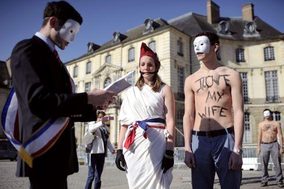 Mani anti bodasgay Francia 2013