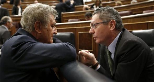 Gallardón ministro Justicia PP en el Congreso