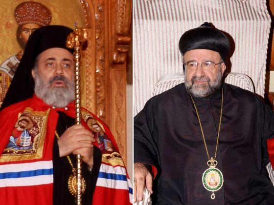 Obispos ortodoxos sirios secuestrados 2013