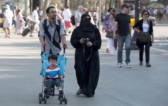 Burka en Barcelona