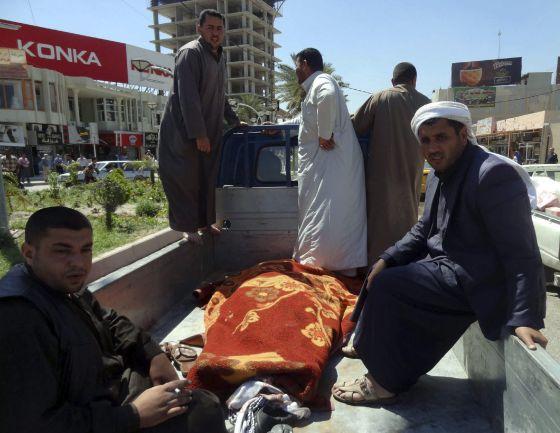 Funeral choques islamistas Irak 2013