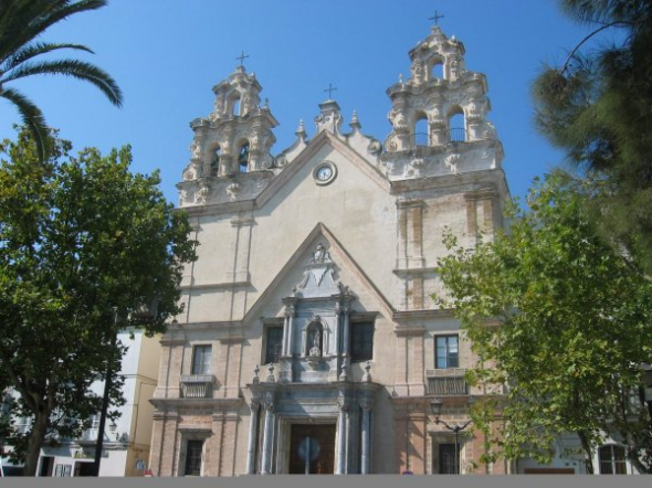 Iglesia del Carmen en Cádiz