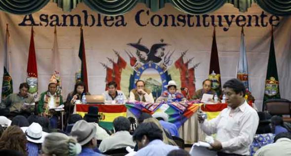 Asamblea constituyente Bolivia
