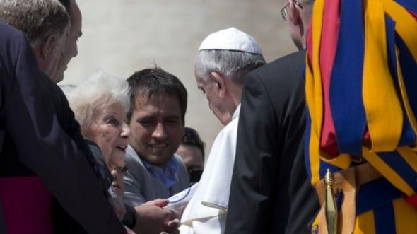 Abuelas de Mayo con Bergoglio 2013