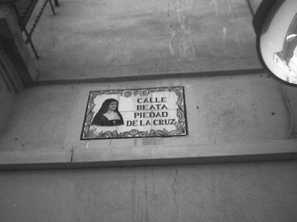 Alcantarilla calle Beata Piedad de la Cruz