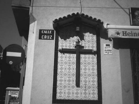 Alcantarilla calle Cruz