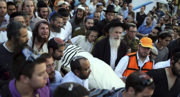 Entierro colono judio