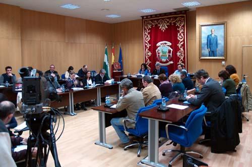 Pleno Ayuntamiento Puente Genil enero2013