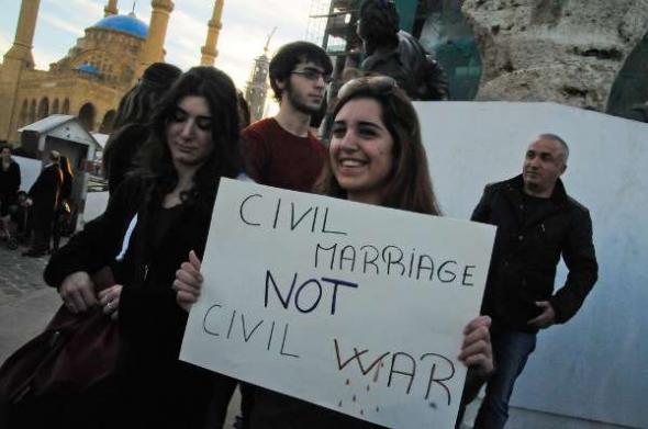 Matrimonio civil Líbano 2013