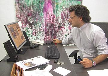 Rafael Pérez cura Canal Sur