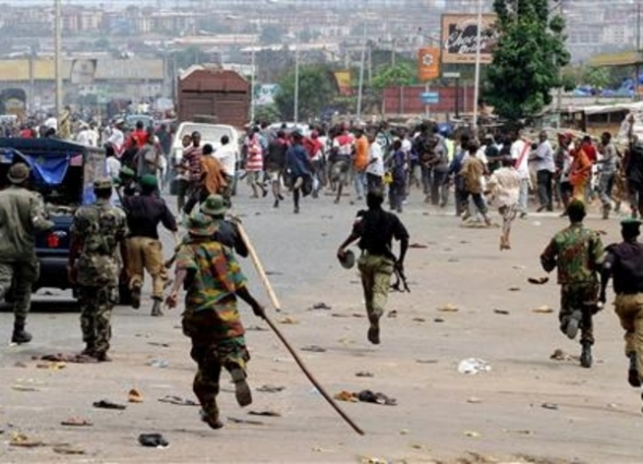 Enfrentamientos Nigeeria 2013