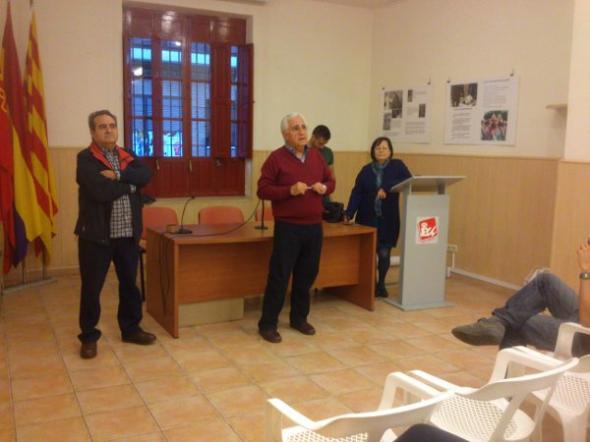 Expo Alicante Escuela Laica Jose Antonio Fernandez Cabello coordinador de EU Alacant