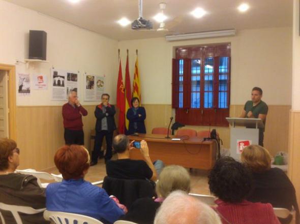 Expo Alicante Escuela Laica Miguel Mauri coordinador de Joves de Eu Alacant