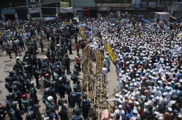 Mani islamista Bangladés 2013