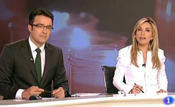 Telediario TVE rezar