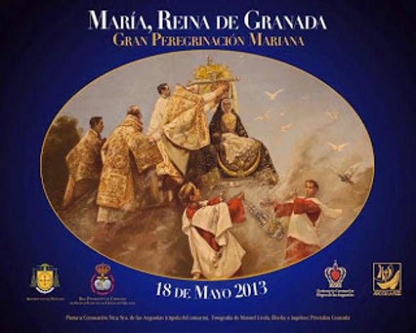 Cartel magna mariana Granada 2013