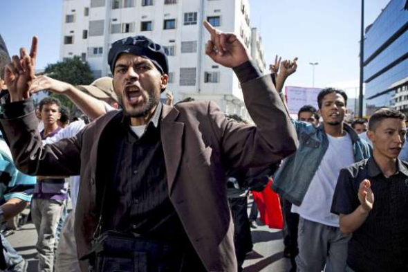 Mani islamista Marruecos